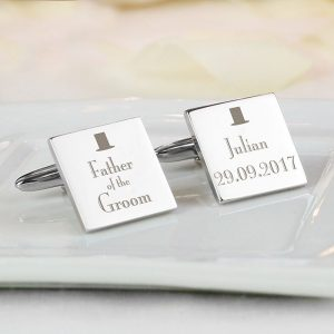 Father of the Groom Cufflinks & Case