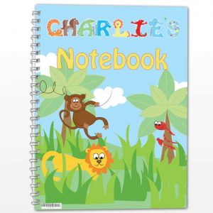 Personalised Animals A5 Notebook