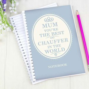 Personalised The Best in The World Notebook
