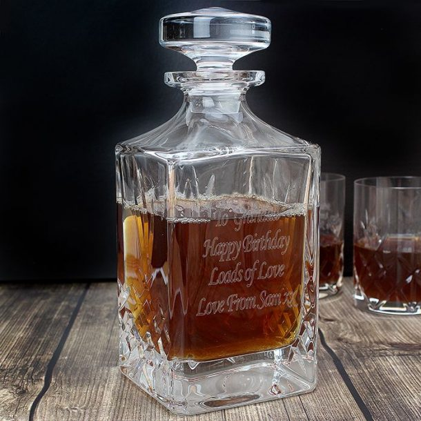 Personalised Crystal Decanter