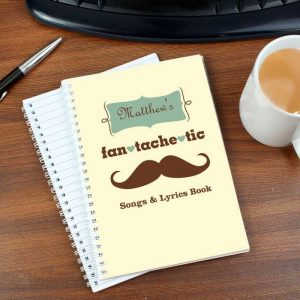 Personalised Fan Tache Tic A5 Notebook
