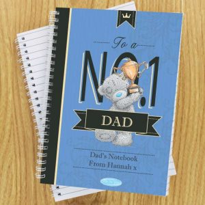Personalised Me to You No 1 A5 Notebook