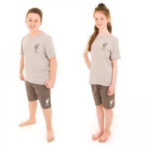 Personalised Official Liverpool Kids 2 Piece Pyjamas