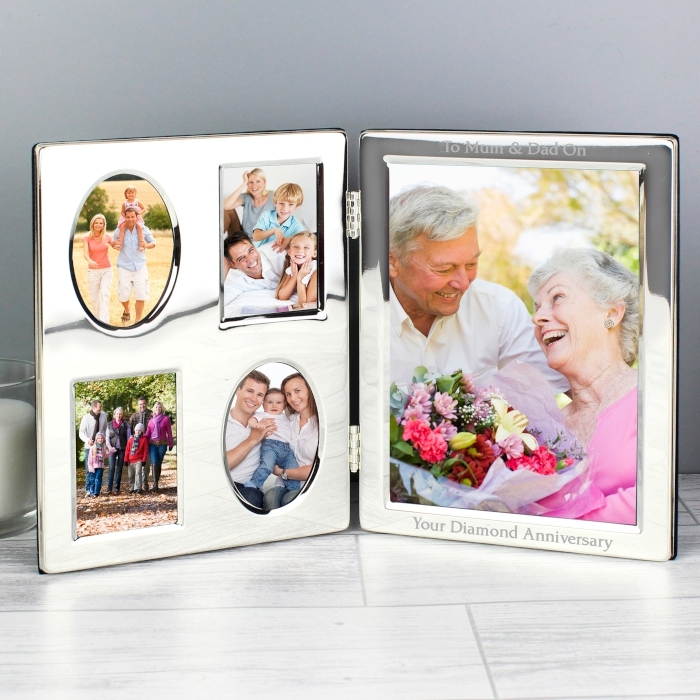 Personalised Multi Family Photo Frame | Love My Gifts