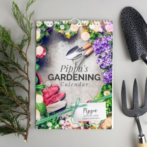 Personalised A4 Gardening Calendar