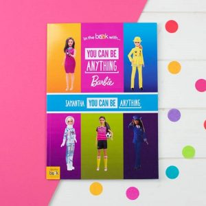 Personalised Barbie You Can Be Anything Softback Book