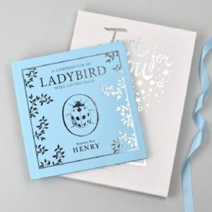Personalised Blue Ladybird Compendium Book