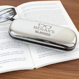 Personalised Glasses Motif Glasses Case