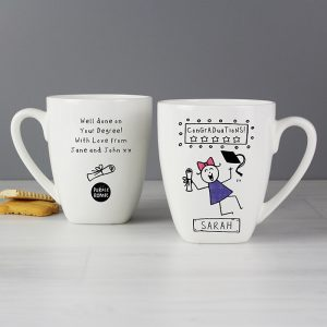 Personalised Graduation Latte Mug