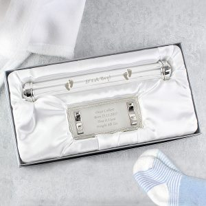 Personalised It's A Boy Certificate Holder
