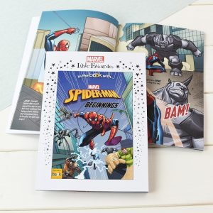 Personalised Marvel Little Favourites Spider-Man Beginnings