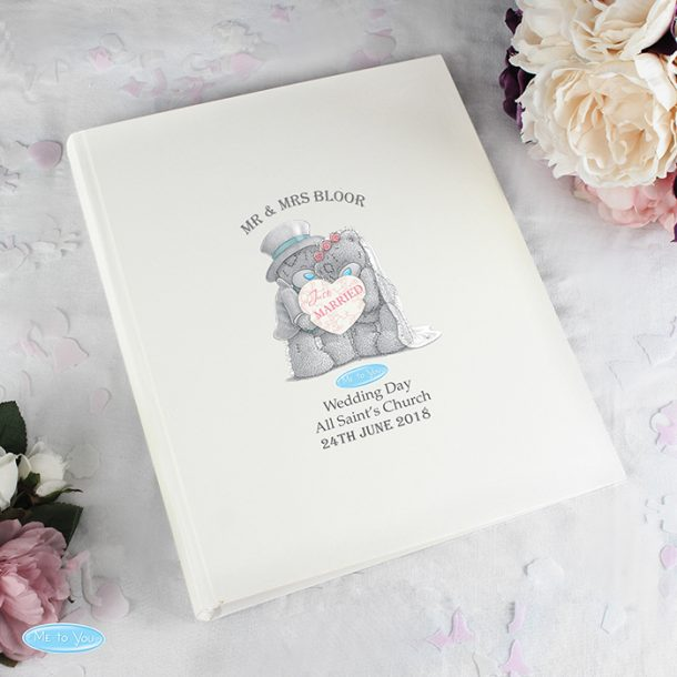 Personalised Me To You Wedding Album
