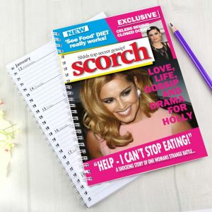 Personalised Scorch A5 Diary