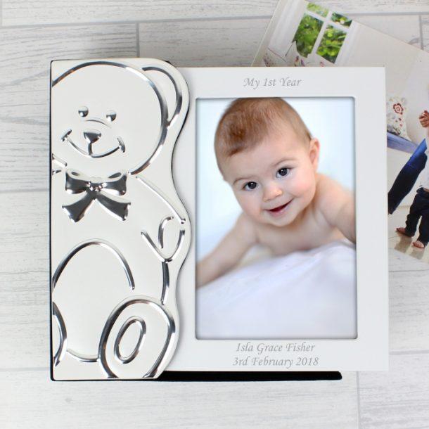 Personalised Teddy Baby Photo Album