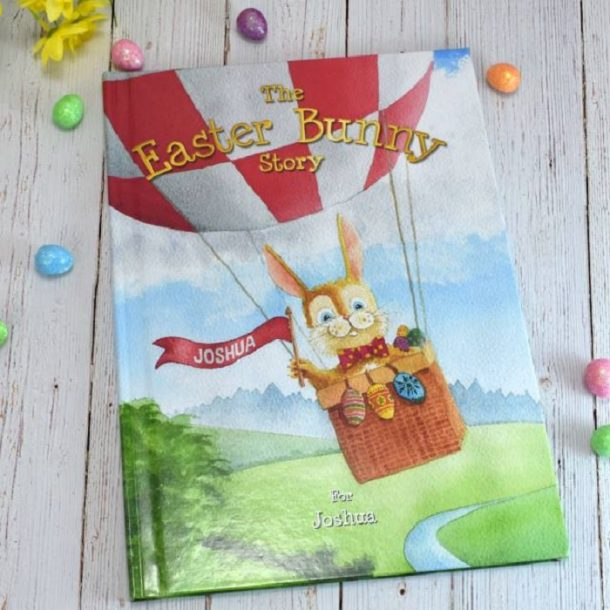 Personalised The Easter Bunny Hardback Book