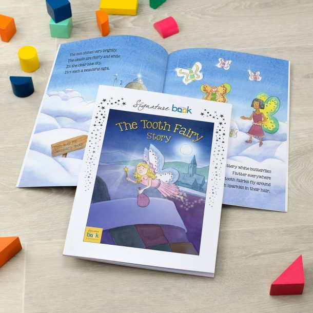 Personalised The Tooth Fairy Soft Back Book