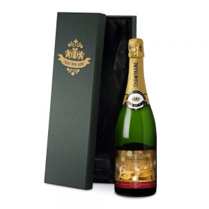 Personalised Valentines Flutes Champagne & Gift Box