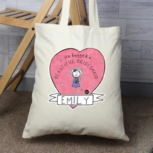 Personalised Wedding Tote Bag