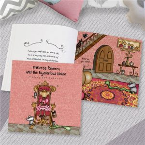 Personalised Princess & The Mysterious Noise Book