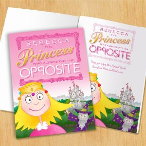 Personalised The Princess Opposite - Hardback