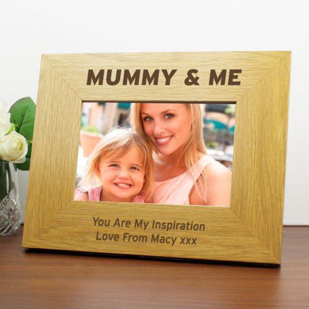 Personalised Mummy & Me Photo Frame