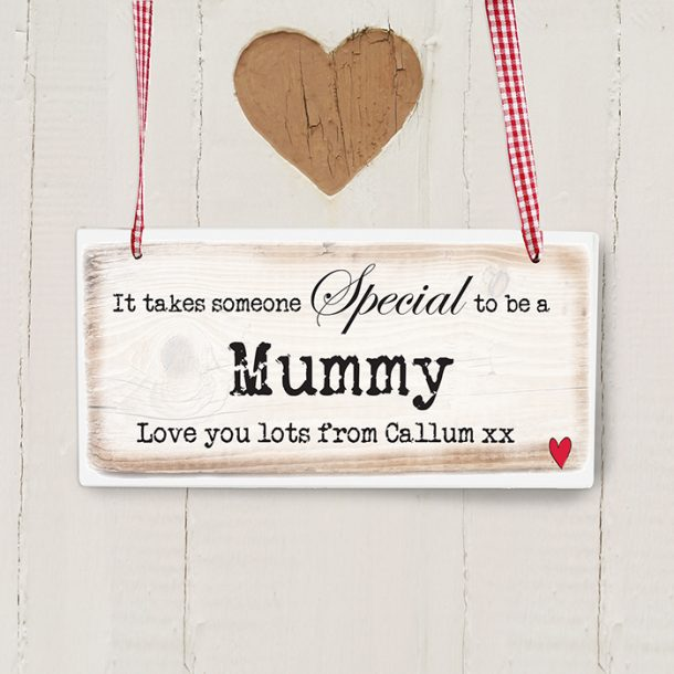 Personalised Someone Special Wooden Sign