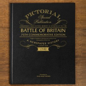 Personalised Battle of Britain Newspaper Book