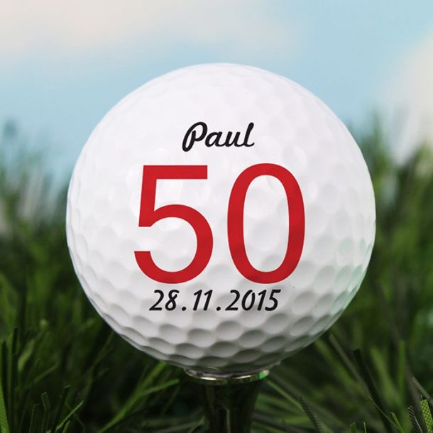 Personalised Age Golf Ball
