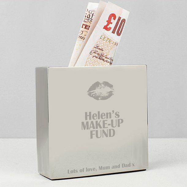 Personalised Lips Money Box
