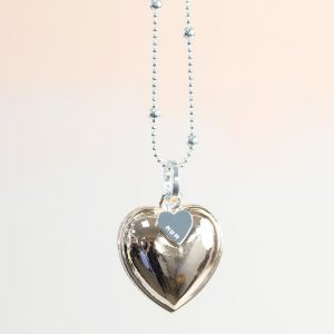 Personalised Mum Heart Necklace
