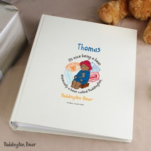 Personalised Paddington Bear Photo Album