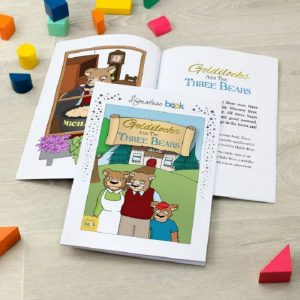 Personalised Goldilocks & The Three Bears Book - Softback