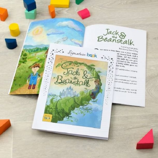 Personalised Jack & The Beanstalk Softback Book