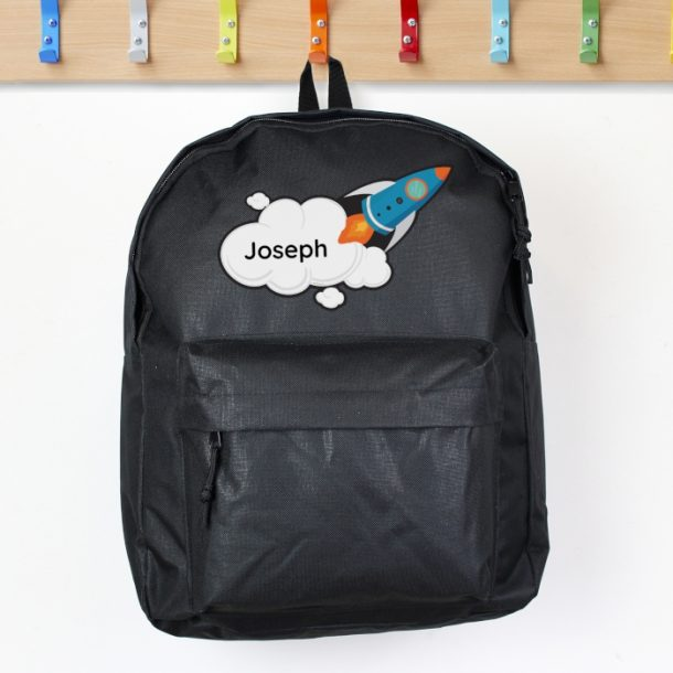 Personalised Rocket Backpack