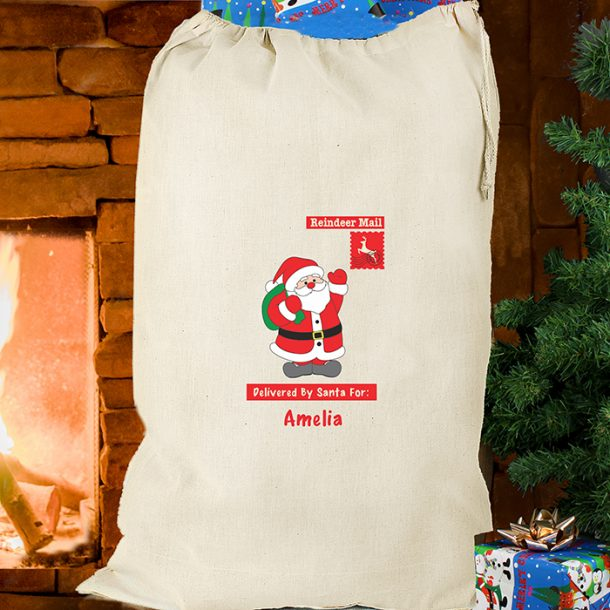 Personalised Father Christmas Sack