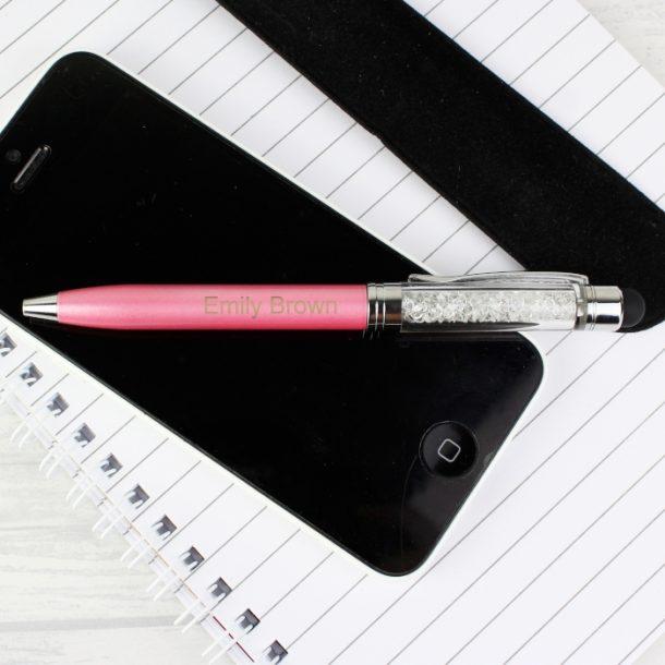 Personalised Pink Pen