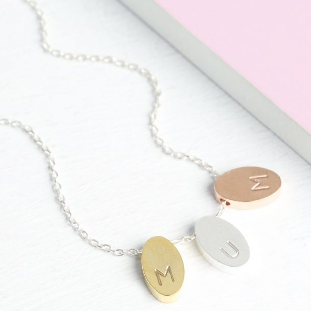 Personalised Petal Necklace
