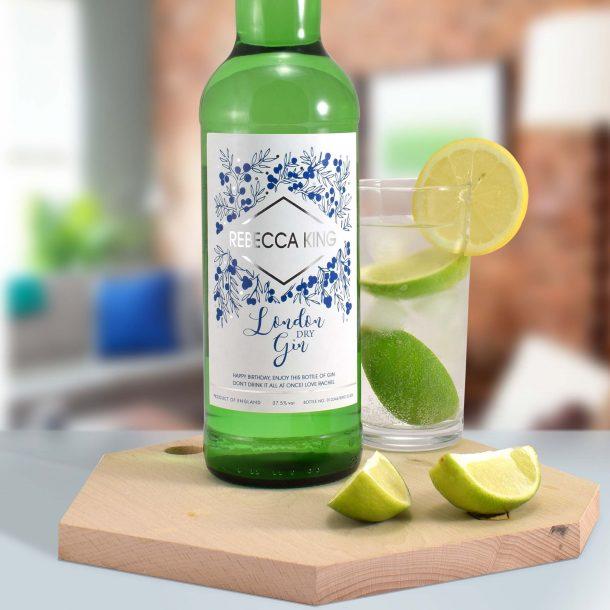 Personalised Modern Gin