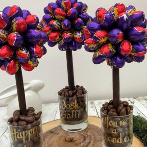 Personalised Cadbury's Creme Egg Sweet Tree