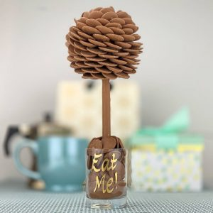 Personalised Chocolate Buttons Sweet Trees