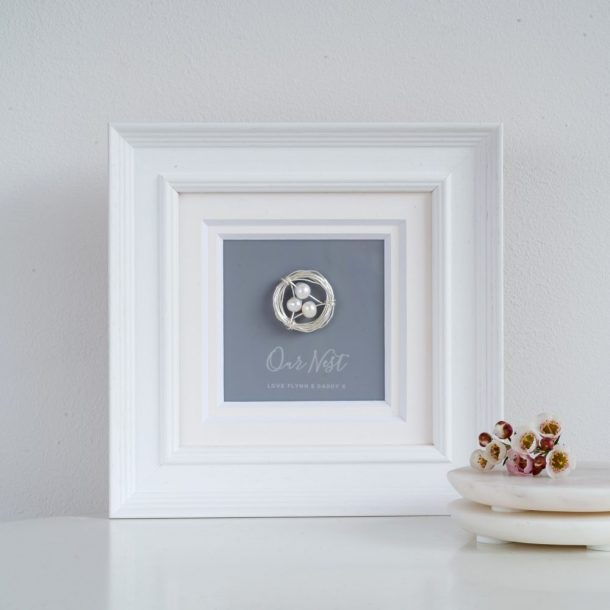 Personalised Our Nest Frame