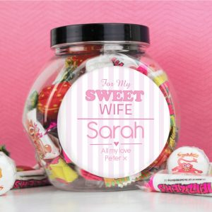 Personalised For My Sweet Sweets Jar