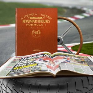 Personalised Formula One Newspaper Book