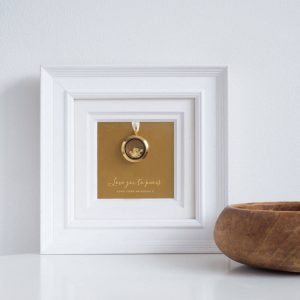 Personalised Love You To Pieces Frame