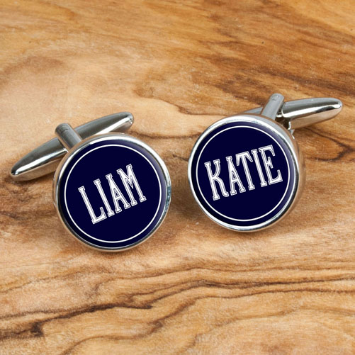 Personalised Names Cufflinks