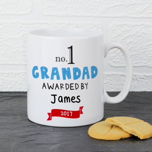 Personalised No.1 Awarded By Mug