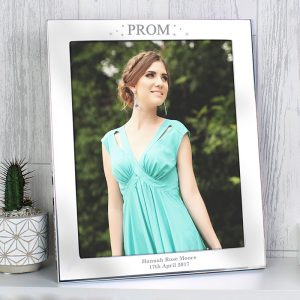 Personalised Prom Night Silver 8x10 Photo Frame