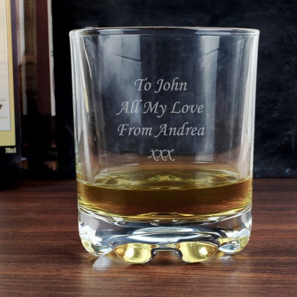 Personalised Whisky Tumbler