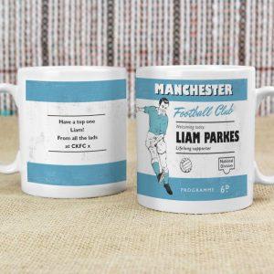 Personalised Any Team Vintage Football Mug