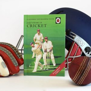 Personalised Ladybird Cricket Book